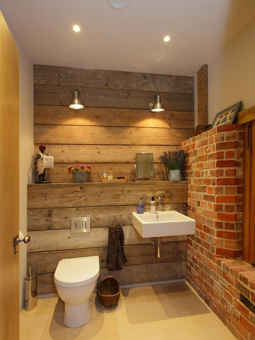 Rustic Powder Room Design Ideas Remodels Amp Photos