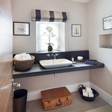 Contemporary Powder Room by London Interiors