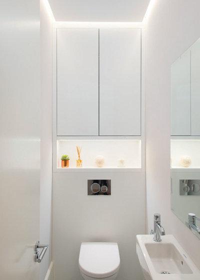 Contemporary Cloakroom by Moretti Interior Design Ltd