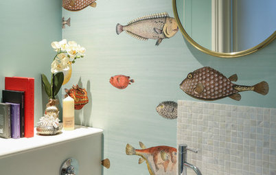 Flash tendencias: El mar inunda la decoración del cuarto de baño