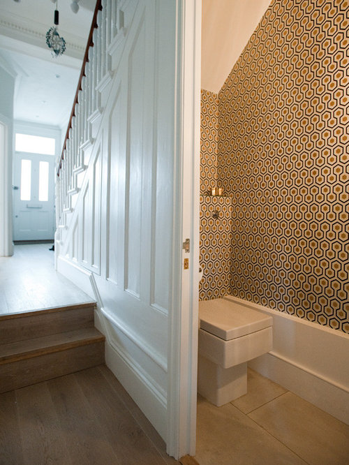 Under Stairs Bathroom Home Design Ideas Pictures Remodel