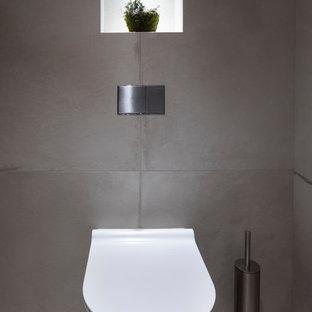Photos Et Idées Déco De Wc Et Toilettes Avec Un Plan De Toilette En