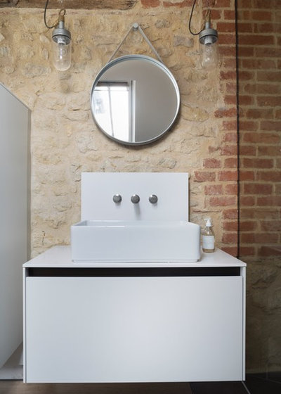 Modern Gästetoilette by Kitchen Architecture