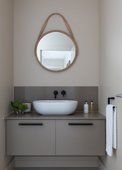 Contemporary Cloakroom by Studio 28 Interiors Ltd