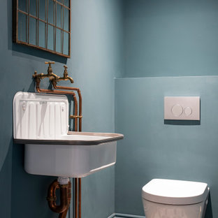 Design ideas for a victorian cloakroom in Other.