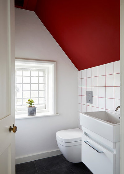 Contemporary Cloakroom by Slightly Quirky Ltd