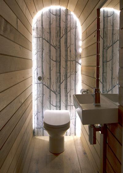 Contemporaneo Bagno di Servizio by Barc Architects Ltd