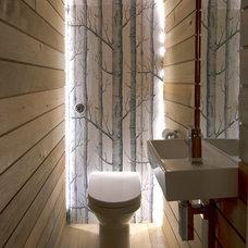 Contemporary Bathroom by Barc Architects Ltd
