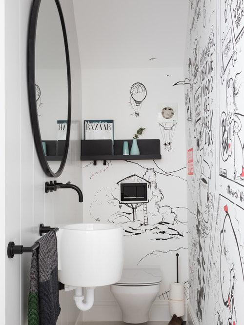 75 Contemporary Cloakroom Design Ideas - Stylish Contemporary ...