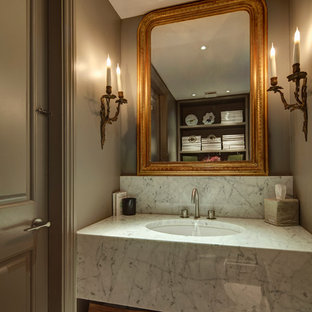 Inspiration for a modern cloakroom in London.