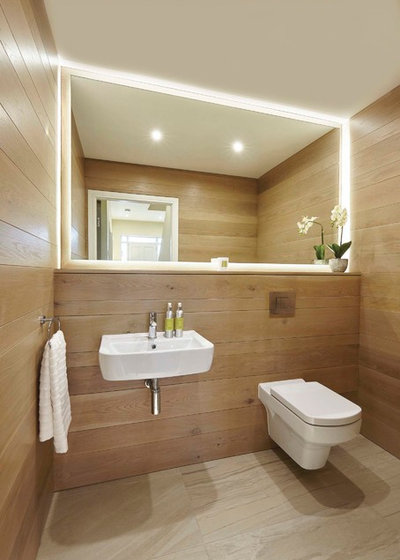 Contemporary Powder Room by Optimise Home