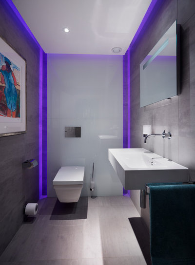 Contemporain Toilettes by Hobsons Choice