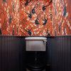 Die trauen sich was! 20 Gäste-WCs mit extravaganten Tapeten