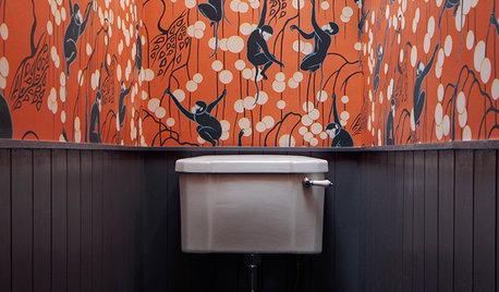 Schrilles Örtchen: 20 Gäste-WCs mit extravaganten Tapeten