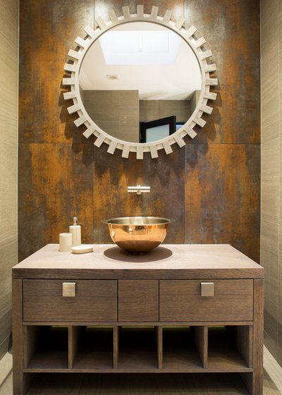 Contemporary Cloakroom by Hartmann Designs Limited