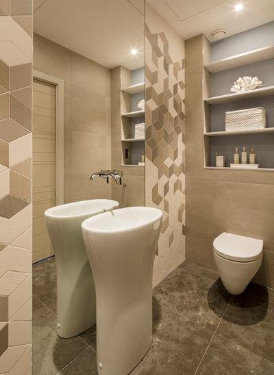 Contemporain Toilettes by Studio 28 Interiors Ltd