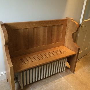 Oak pew/radiator cover