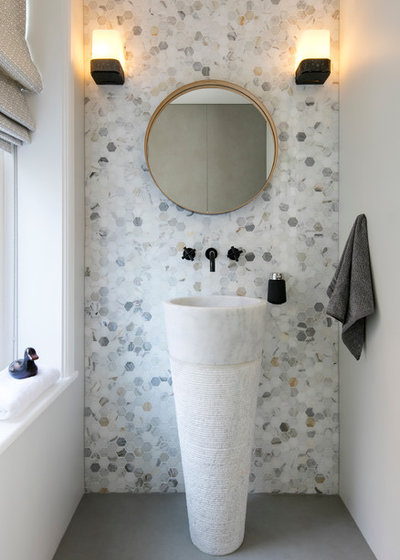 Contemporary Cloakroom by David Giles Photography