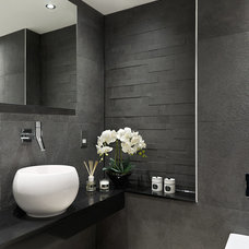 Contemporary Powder Room by Concept Interiors