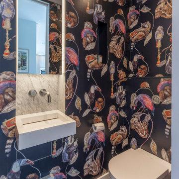 Contemporary Cloakroom