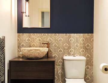 Surrey Townhouse Powder Room Redesign