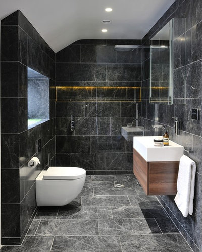 Contemporary Cloakroom by Project One