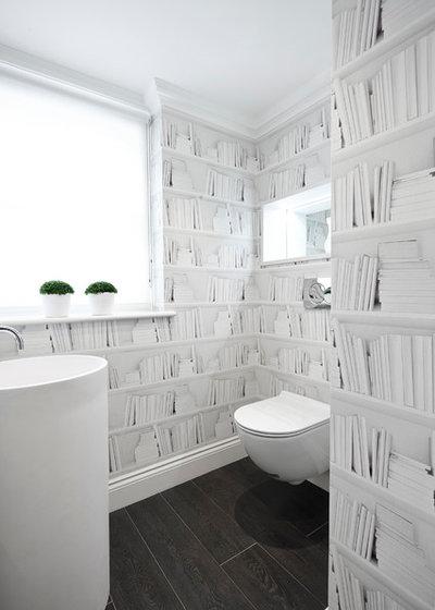 Modern Gästetoilette by Bailey London Interior Design & Build