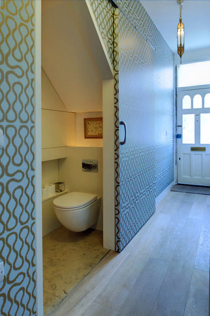 Contemporary Powder Room by Proctor  Co Architecture Ltd