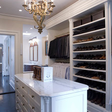 Traditional Closet by Linda Jaquez Architectural Photography