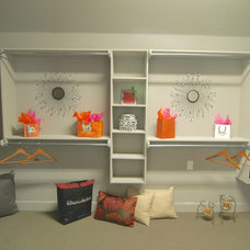 Eclectic Closet by Jeff Click Homes