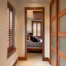 Contemporary Closet by ART Design Build