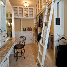 Traditional Closet by Jenkins Custom Homes