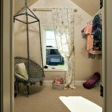 Eclectic Closet by Plum and Crimson Fine Interior Design