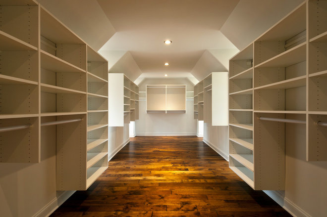 Traditional Closet by Witt Construction