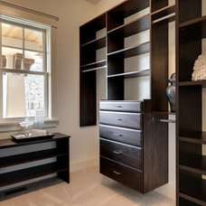 Traditional Closet by Highmark Builders