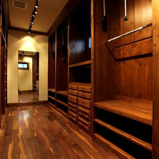 Traditional Closet by Rice Residential Design