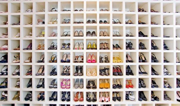 Contemporary Closet by Morgan Howarth Photography