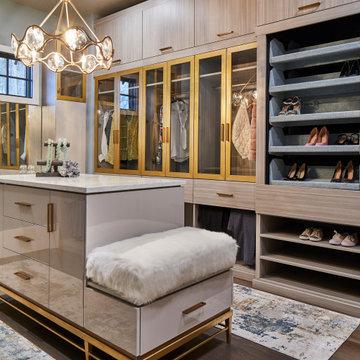 3 Luxurious Master Closets