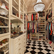 Traditional Closet by Frankel Building Group