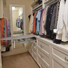 traditional closet by Mountainwood Homes