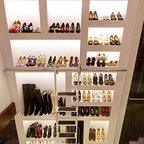 After Solatube Walk In Closet Contemporary Closet