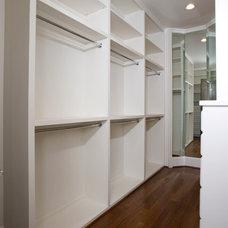 Contemporary Closet by Creole Design