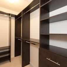 Modern Closet by Chris Cleghorne - Real Estate Broker
