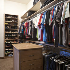 Mediterranean Closet by The Matheson Team RE/MAX Fine Properties