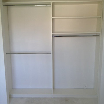 "A basic closet at about 84"" wide."