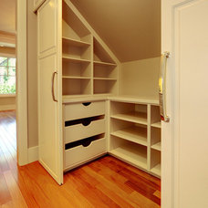 Traditional Closet by A Collaborative Design Group