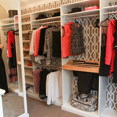 Transitional Closet by Devine Designs