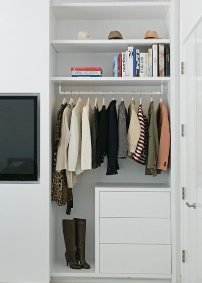 Contemporary Cabinet by Lisa Adams, LA Closet Design