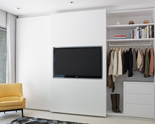 Tv In Closet Home Design Ideas, Pictures, Remodel and Decor