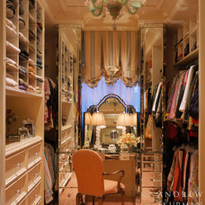Traditional Closet by Andrew Skurman Architects